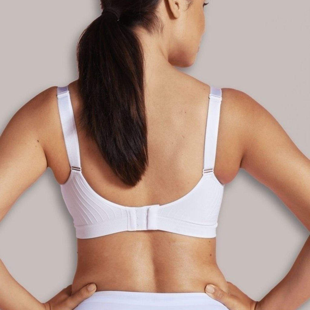 Carriwell Carriwell Maternity And Nursing Bra With CarriGel Support - White / Large