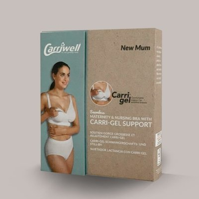 Carriwell Carriwell Maternity And Nursing Bra With CarriGel Support -Black / Medium