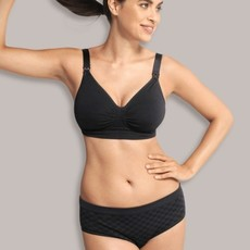 Carriwell Carriwell Maternity And Nursing Bra With CarriGel Support - Black / Extra Large