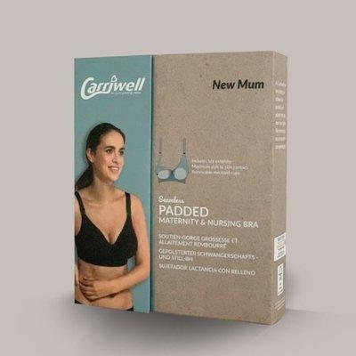 Carriwell Carriwell Padded Maternity And Nursing Bra -White / Medium