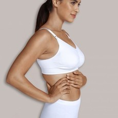 Cariwell Carriwell Padded Maternity And Nursing Bra - White / Extra Large