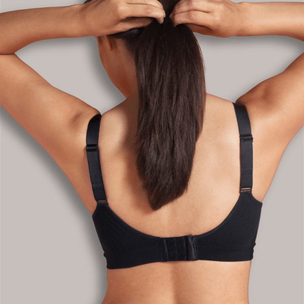 Carriwell Carriwell Padded Maternity And Nursing Bra - Black / Extra Large