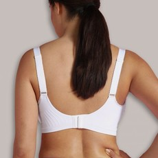 Carriwell Cariwell Maternity And Nursing Bra With Padded CarriGel Support - White / Large