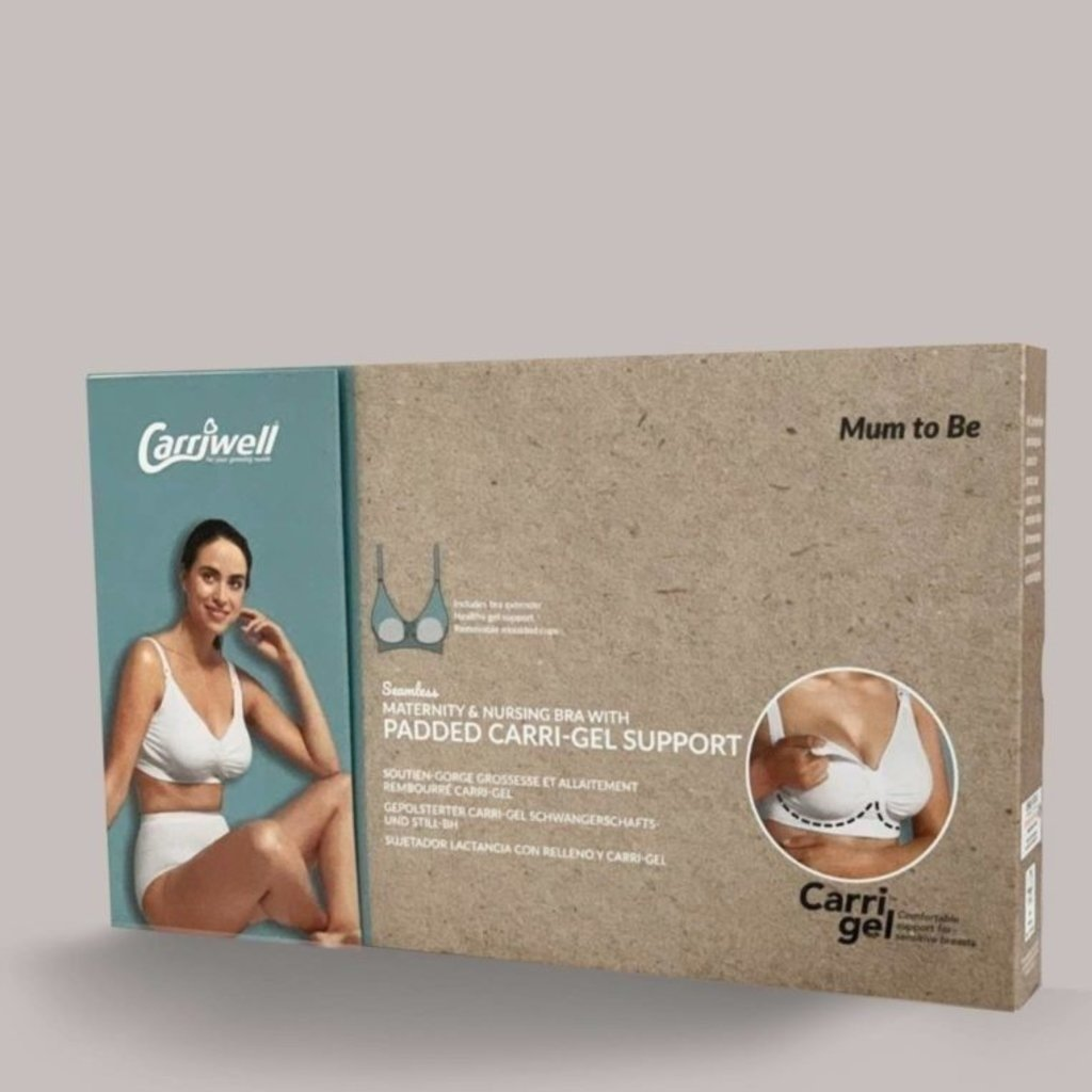 Carriwell Cariwell Maternity And Nursing Bra With Padded CarriGel Support - White / Extra Large
