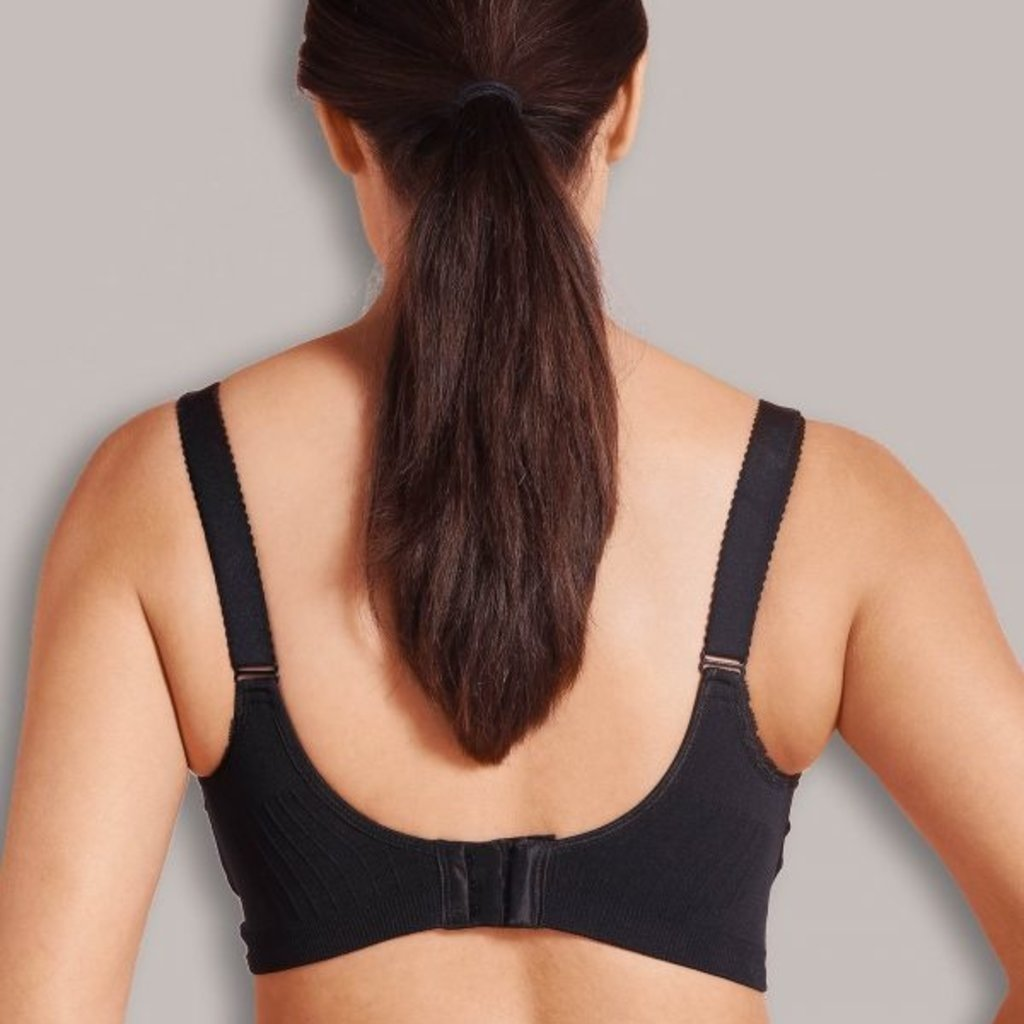 Carriwell Cariwell Maternity And Nursing Bra With Padded CarriGel Support - Black / Extra Large