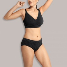 Carriwell Cariwell Maternity And Nursing Bra With Padded CarriGel Support - Black / XX Large