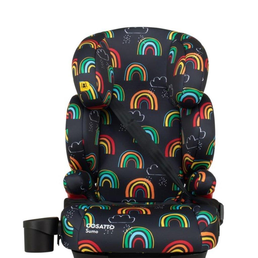 Cosatto Cosatto - Sumo Isofix Car Seat - Disco Rainbow