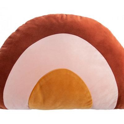 Hestia Hestia Velvet Rainbow Cushion
