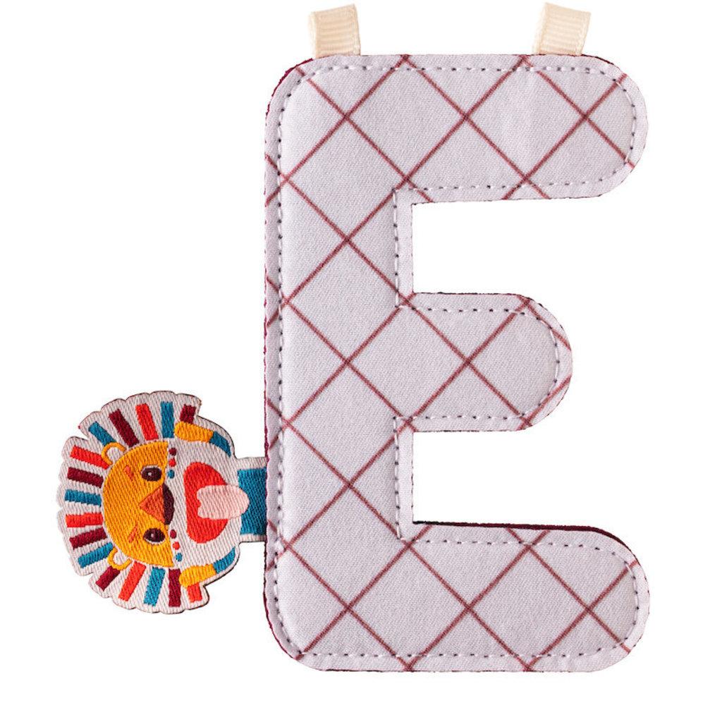 Lilliputiens Lilliputiens Fabric Letter E Jack