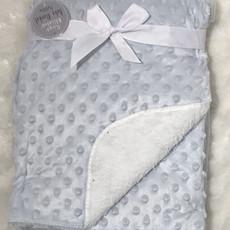 Blue Fleece/Dimple Blanket