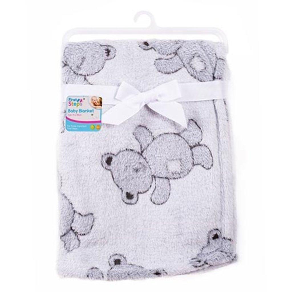 Baby Soft Design Blanket Grey