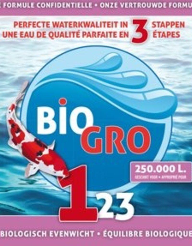 Biogro BIOGRO 123 OPSTART PAKKET - 3x1 Liter geschikt voor 250.000L
