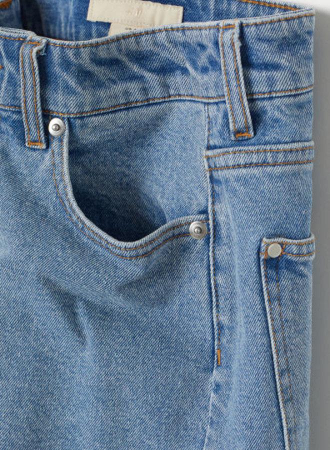 Denim short - High waist