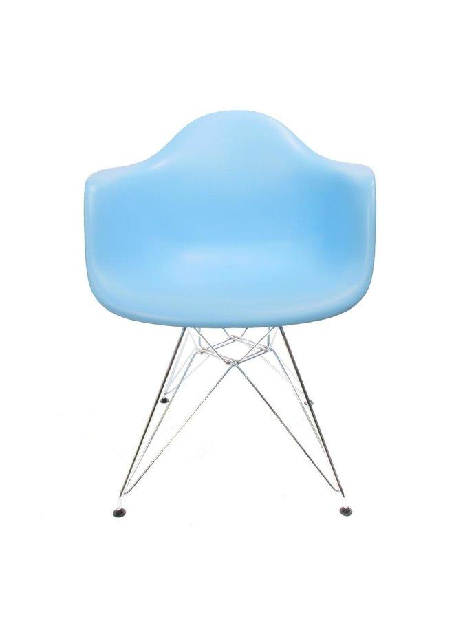 Eames chair Blauw