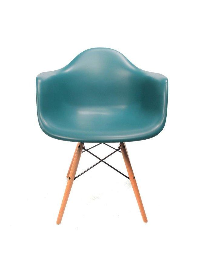 Eames chair blue