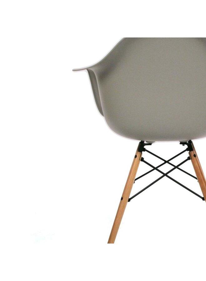 Eames chair telegrijs
