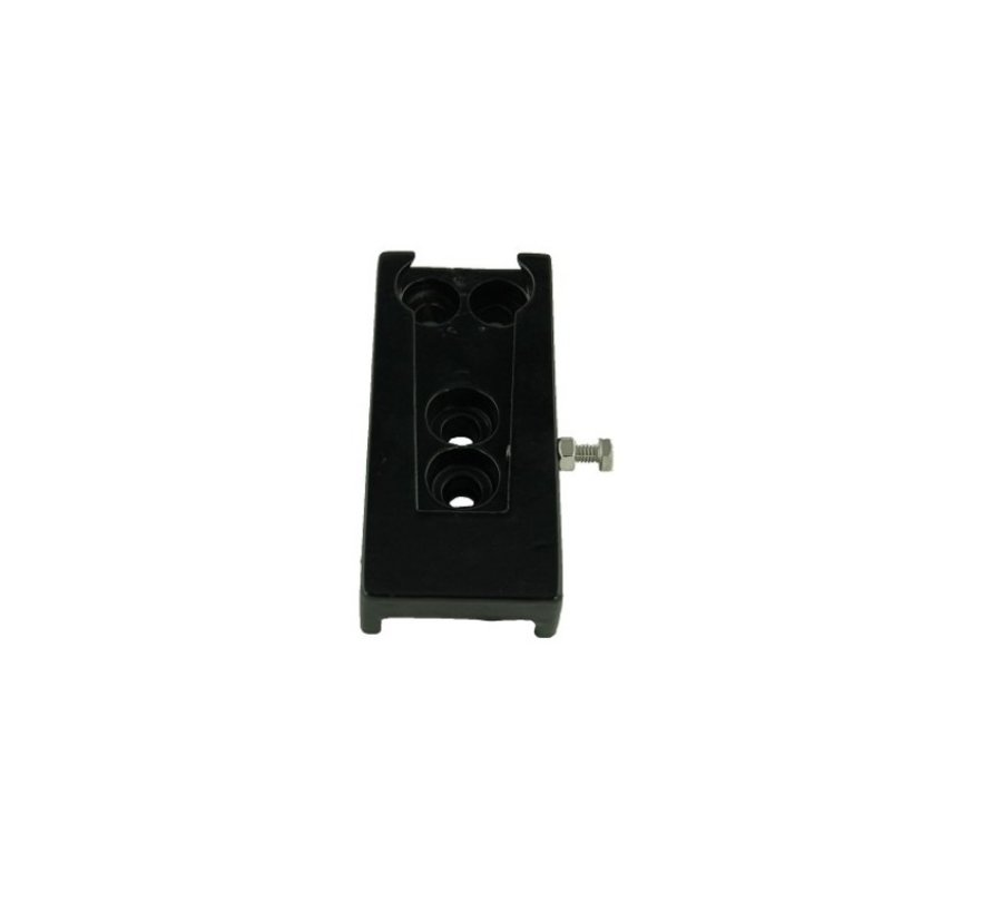 Adapter quick release