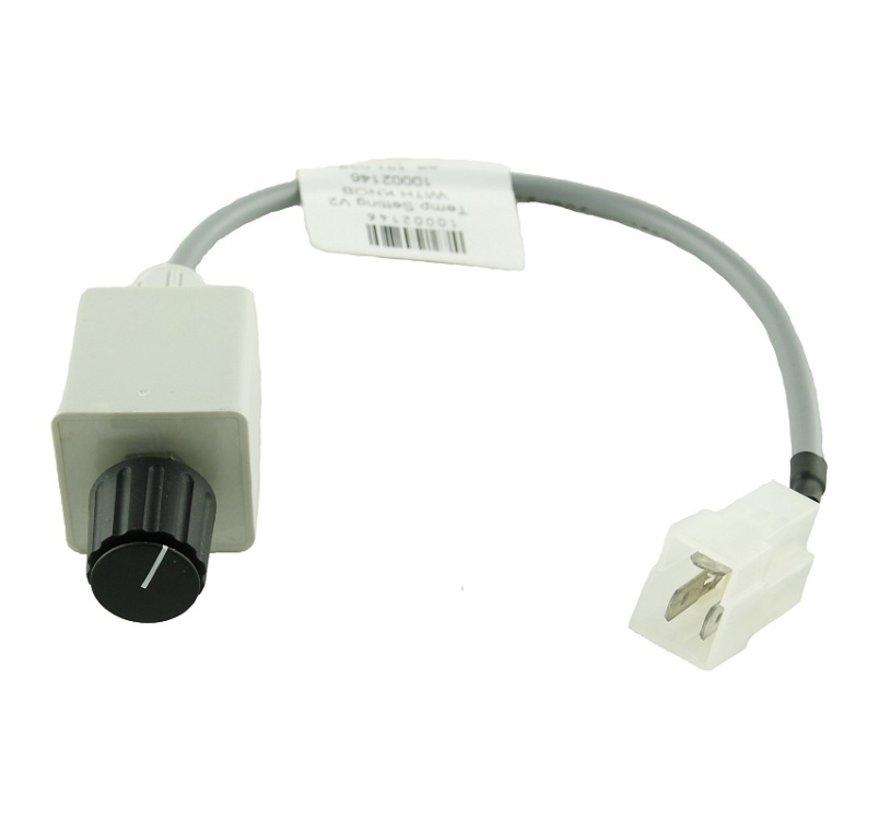 Instelknop met kabel