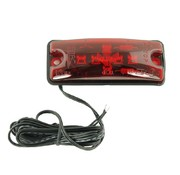 Equivalent LED positielamp rood