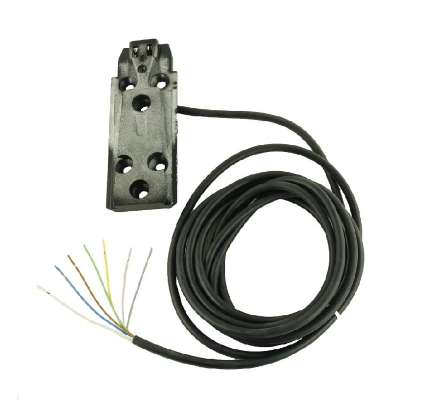 Montagesteun vlak+ kabel 4mtr