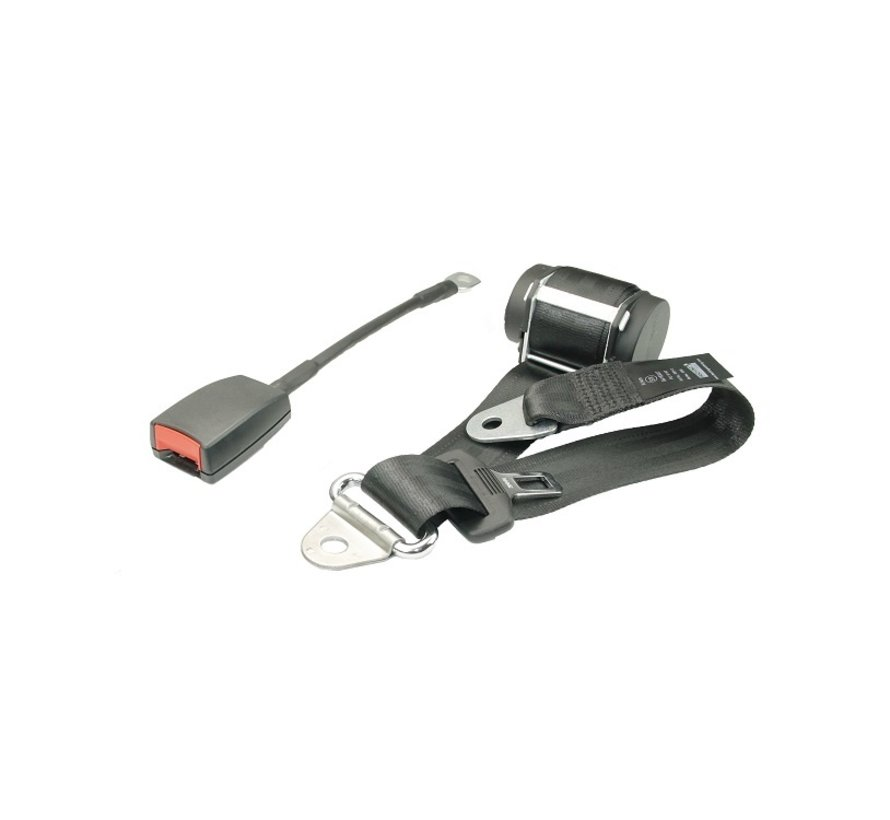 3-points safety belt with Buckle=300mm