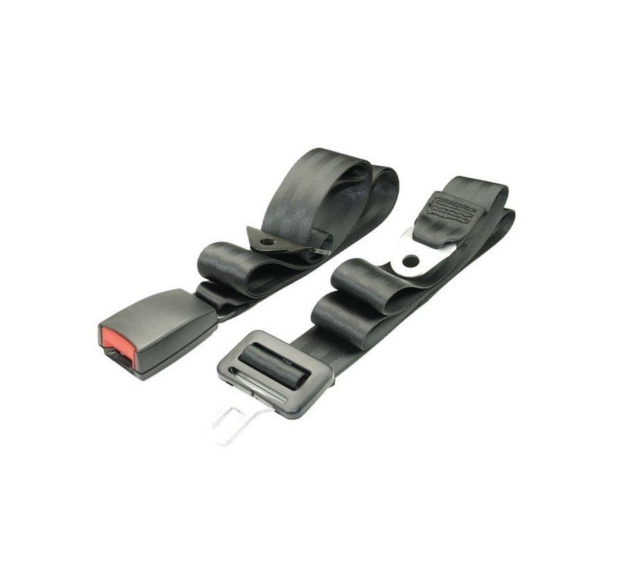 2-points Lap belt  2-sides adjustable