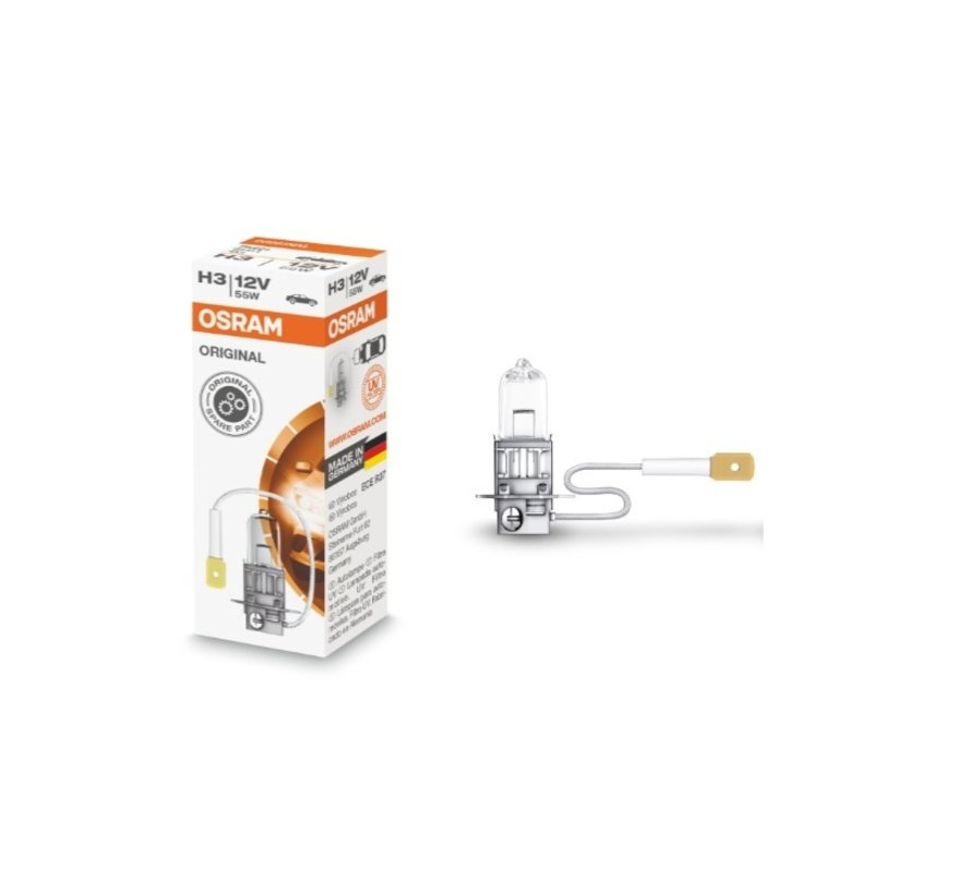 Halogenlampe H3/12V-55W OEM Quality