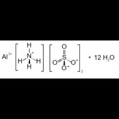 Dodecahidrato de sulfato de aluminio y amonio ≥98%, p.a., ACS