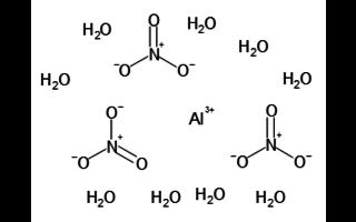 Nitrato de aluminio no hidratado