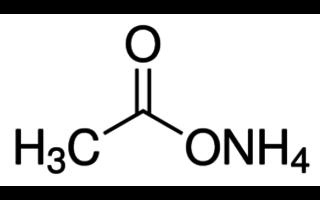Acetato de amonio