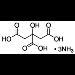 citrato de tri-amonio ≥97%, puro