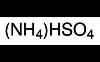 Bisulfato de amonio