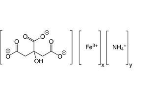 Citrato de amonio y hierro (III)