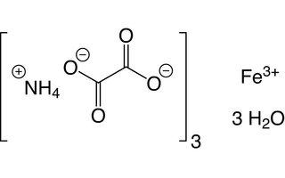 Oxalato de amonio y hierro (III)