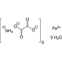 Trihidrato de oxalato de amonio y hierro (III) ≥99%, puro