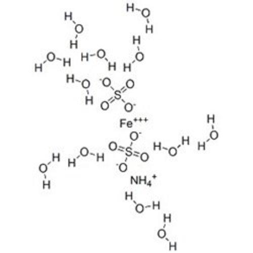 Ammoniumijzer(III)sulfaat dodecahydraat ≥98,5 %, p.a., ACS, ISO