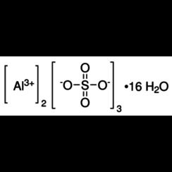 Aluminiumsulfaat hyxadecahydraat ≥98 %, p.a., ACS