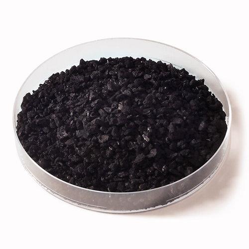 Aktivkohle 1-3 mm, aus Torf, grau, dampfaktiviert