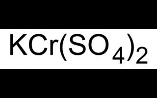 Chromium(III) potassium sulphate