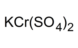 Sulfato de cromo (III) potasio