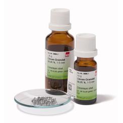 Gránulos de cromo ≥99,95%, 1-5 mm