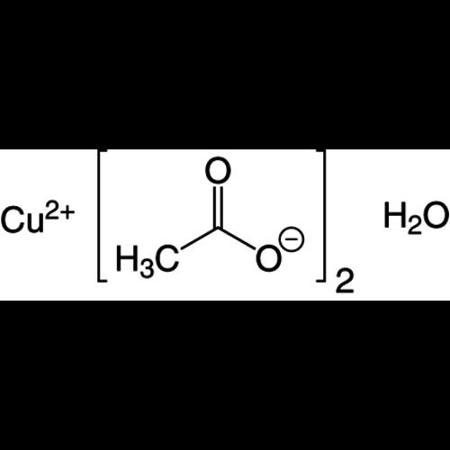 Acetato de cobre (II) monohidrato ≥98%, extra puro
