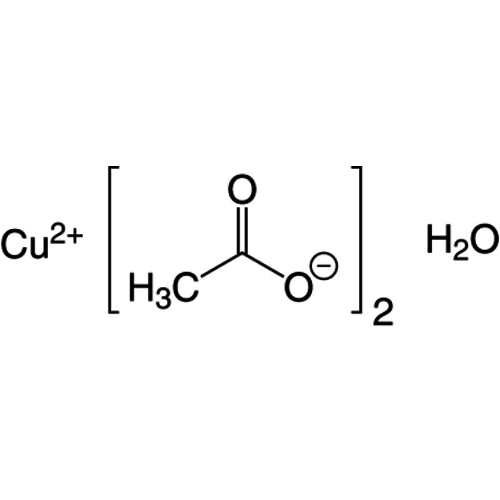 Koper(II)acetaat monohydraat ≥98 %, extra pure