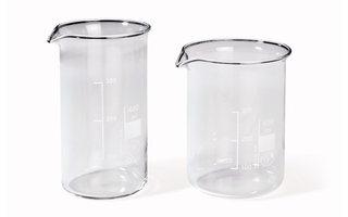 Glass beakers