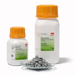 Zink granulaat ≥99,99 %, p.a., particle size: 5-15 mm