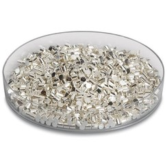 Silver pellets ≥99,99 %, 3x3 mm