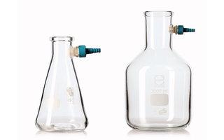 Botellas de succión y sellos