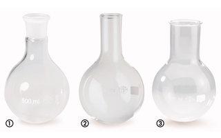 Standard ground joint flasks