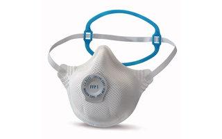 Máscaras de protección respiratoria desechables