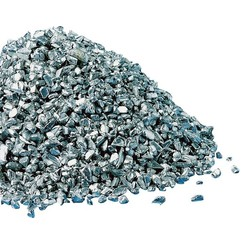 Granulado de aluminio ≥99%, gran., Aprox. 1-5 mm